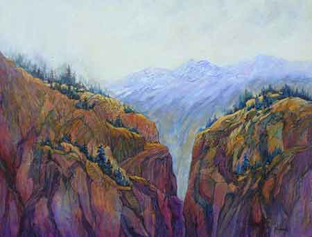 Mountain Ridges - Marilyn Harris