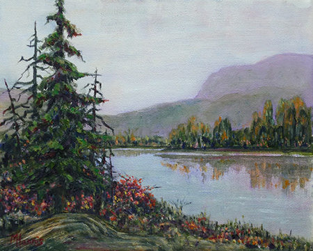 Mountain Lake -  Marilyn Harris